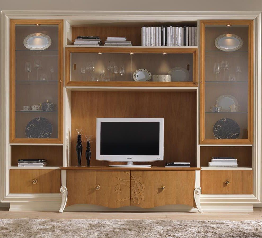 Mobile porta TV moderno / in legno - PREMIÈRE CLASSE - Stilema
