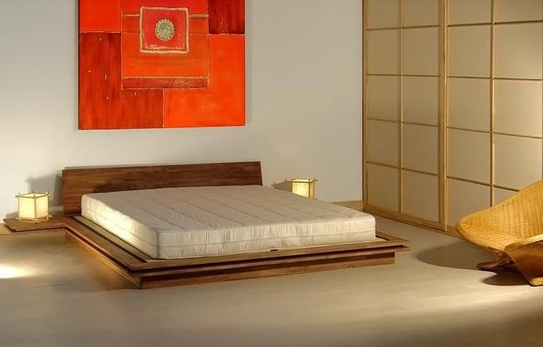 Letto matrimoniale / moderno / in legno / 180x200 cm - TOKI ...