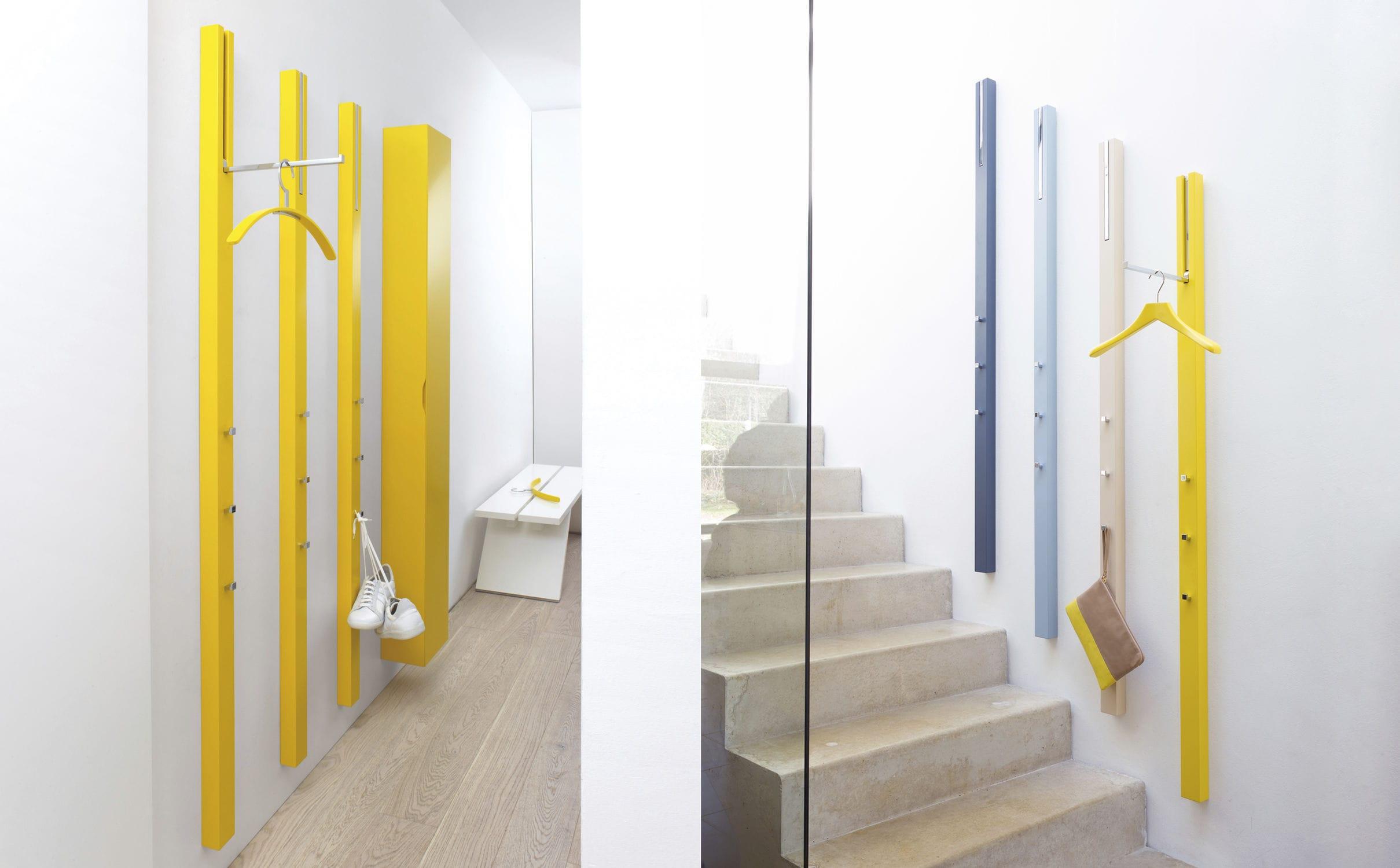appendiabiti a muro / moderno / in MDF laccato