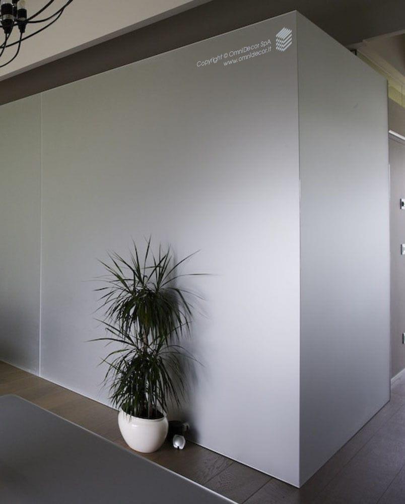 Pareti Divisorie In Vetro Colorato pannello in vetro float - omnidecor - decorato / per interni
