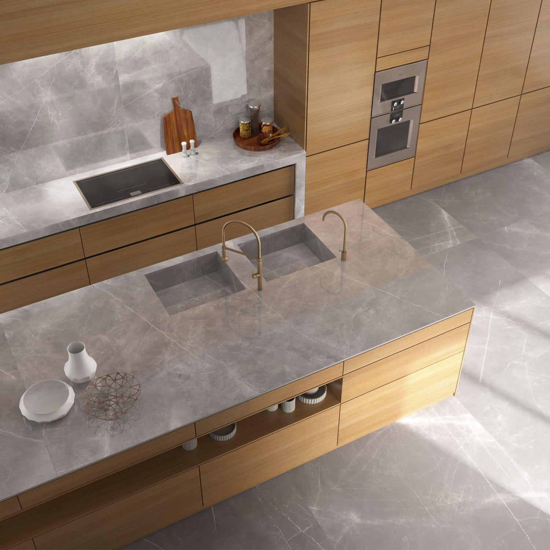 Piano Di Lavoro Cucina Da Esterno.Piano Di Lavoro In Gres Porcellanato Da Cucina Da Bagno