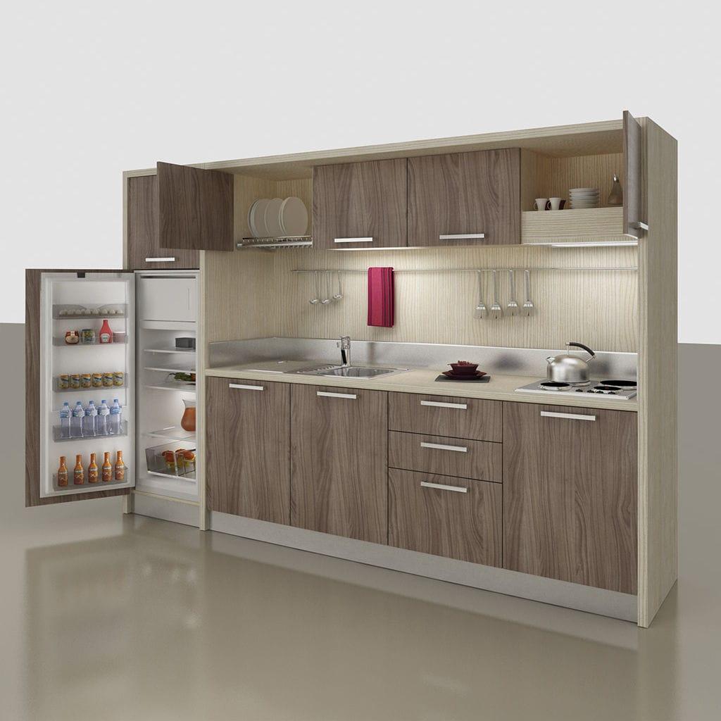 Mini Cucine A Scomparsa mini cucina a scomparsa / compatta / con elettrodomestici