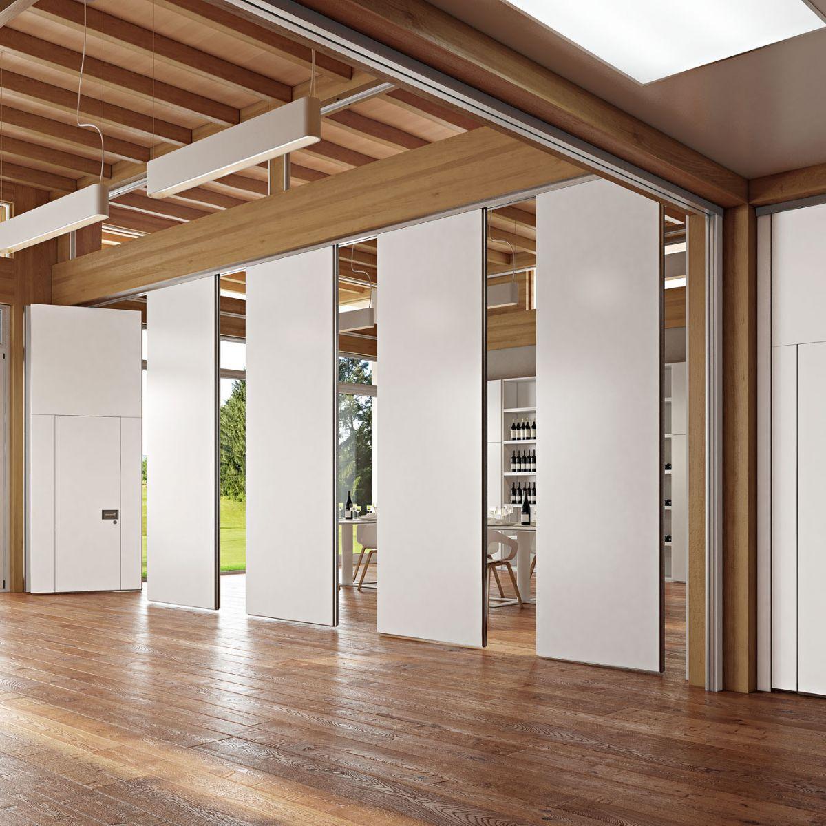 Divisori In Legno Per Interni parete roto-traslante - rolling wall - arcadia - in legno