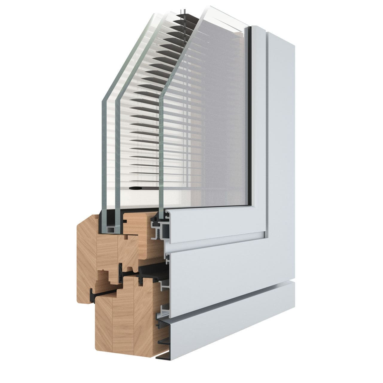 Finestre Con Veneziane Incorporate Prezzi finestra a battente - eternity maxi 68 verbund - pavanello