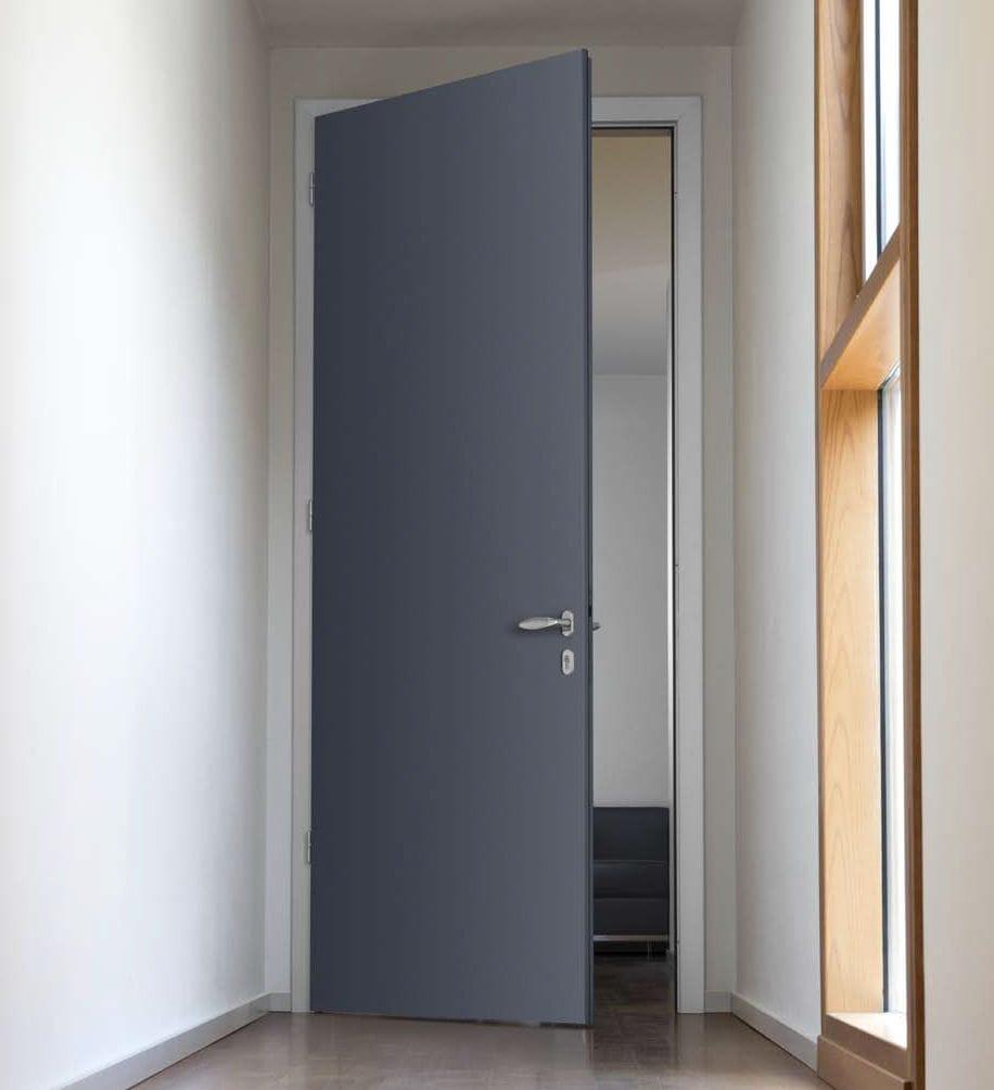 Porte In Alluminio Anodizzato porta da interno - plana al - cipriani serramenti - battente