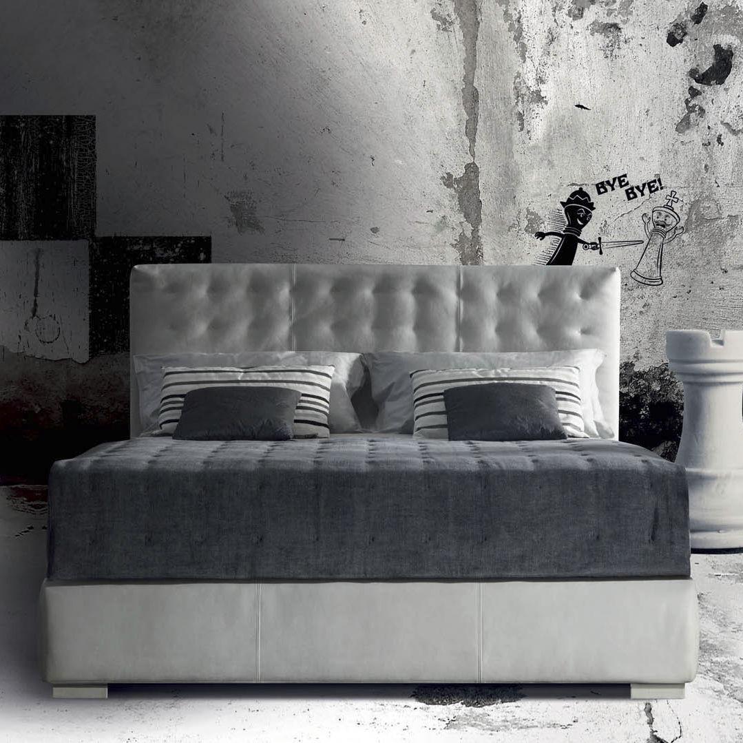 Letto Matrimoniale Contenitore Milano.Letto Matrimoniale Fiji Milano Bedding Art Deco Imbottito