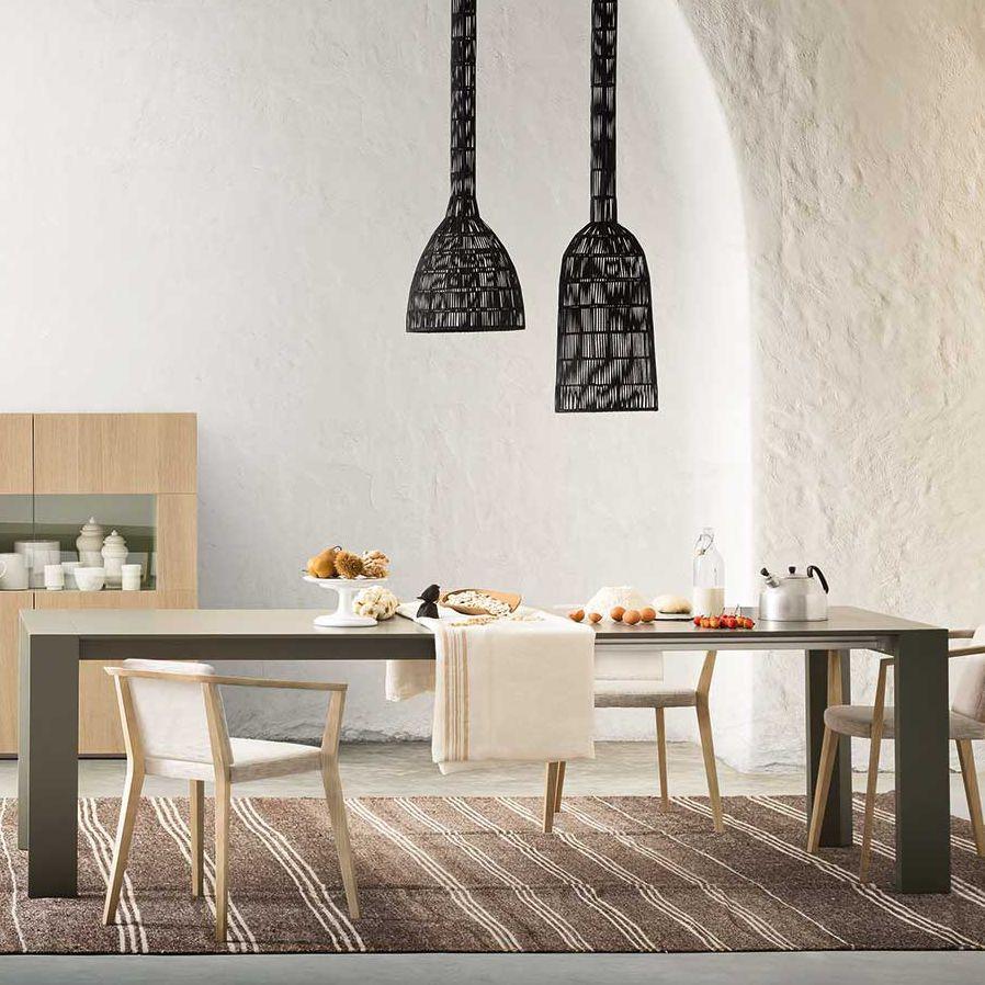 Ceppo Di Legno Tavolino tavolo moderno / in quercia / in legno laccato / con