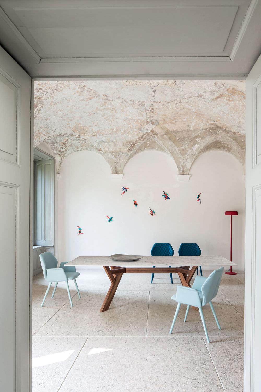 Tavolo moderno / in legno / in marmo / rettangolare ...