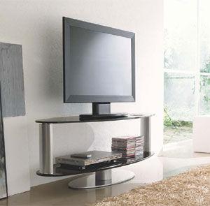 Mobile Porta Tv Cristallo Prezzi.Mobile Porta Tv Moderno Girevole In Vetro Zen Compar