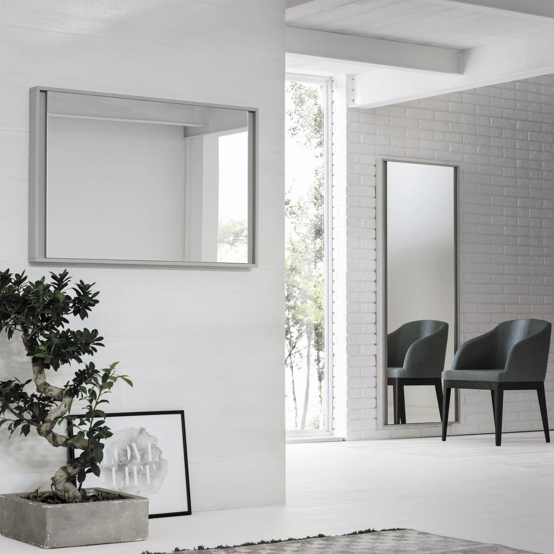 Specchio a muro / per camera da letto / moderno ...
