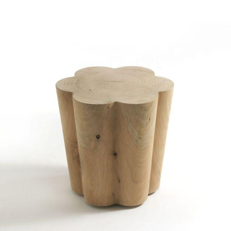 Sgabelli In Legno Design.Sgabello Design Originale In Legno Massiccio In Cedro Di Alessandro Mendini