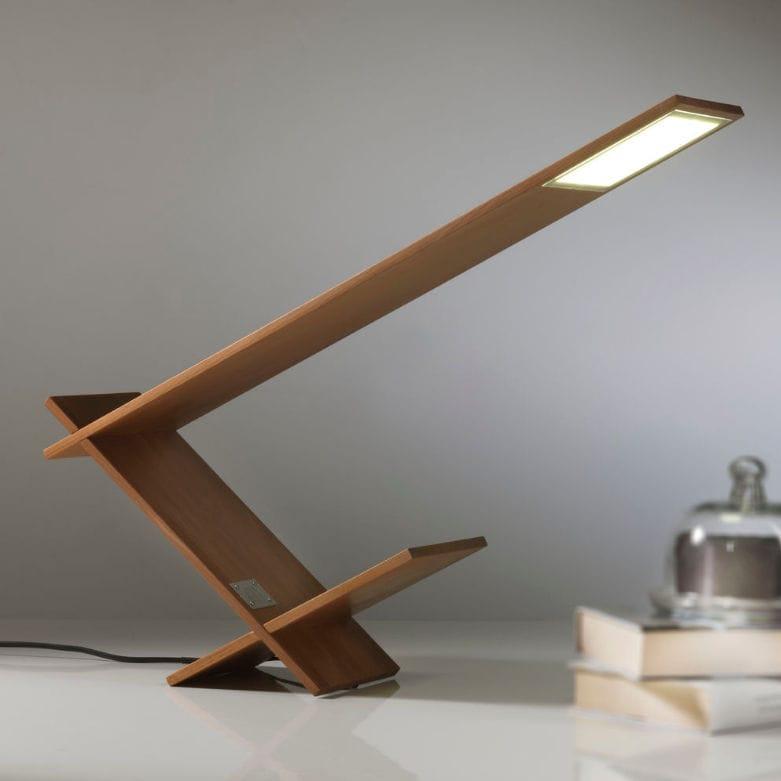 Lampada Da Tavolo K Blade Riva Industria Mobili In Legno Moderna Da Interno