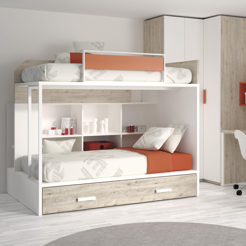 Letti A Castello Per Bambini Design.Letto A Castello Touch 58 Ros 1 S A Singolo Moderno Per