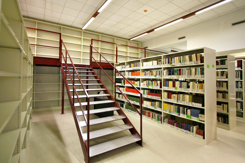 Scaffalature Per Biblioteca.Scaffalatura Mobile Per Biblioteca Per Archivio