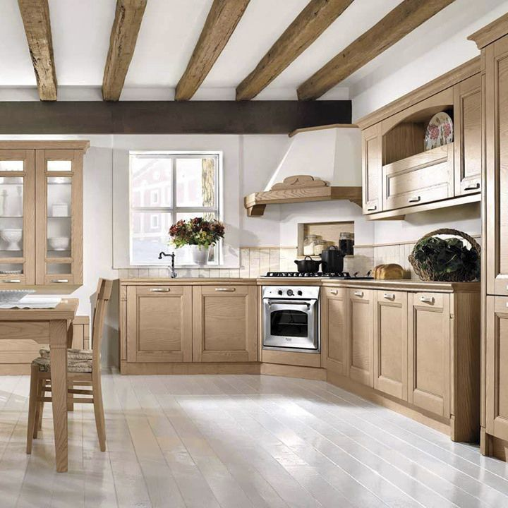 Cucina Classica Gioiosa Arredo3 S R L In Legno Massiccio In Frassino A L