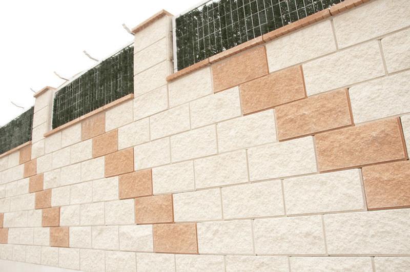 Blocco Di Calcestruzzo Forato Per Muro Di Contenimento