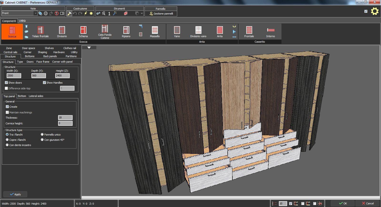 Software Arredamento Interni Gratis software di progettazione di mobili - spazio3d