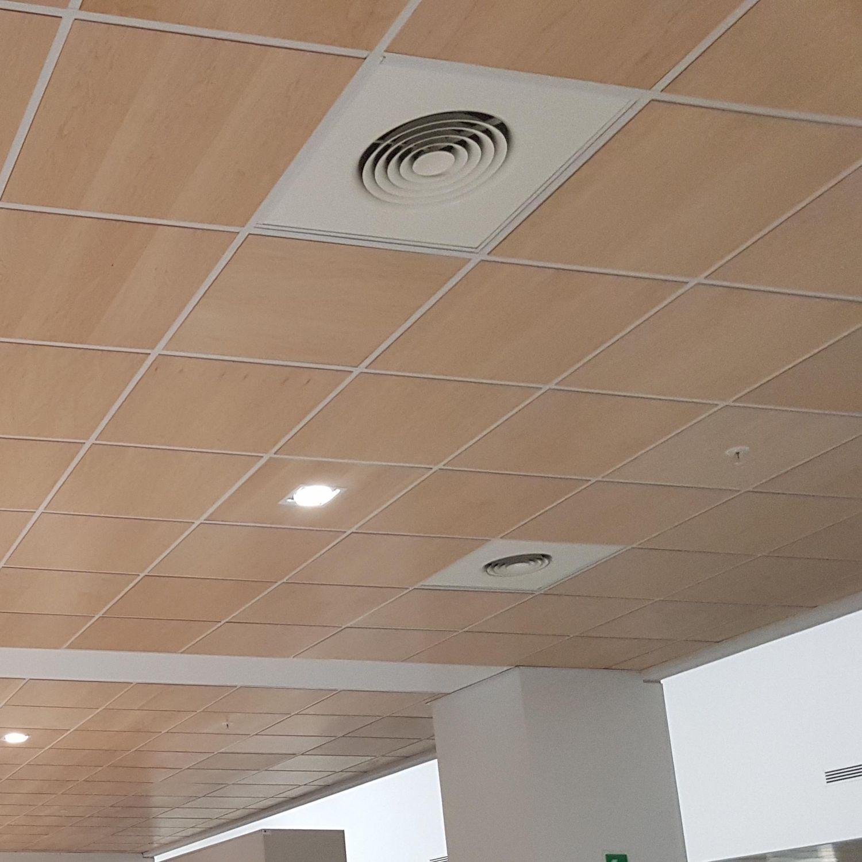 Diffusori Lineari Aria Condizionata diffusore d'aria da soffitto / sospeso / conico / tondo