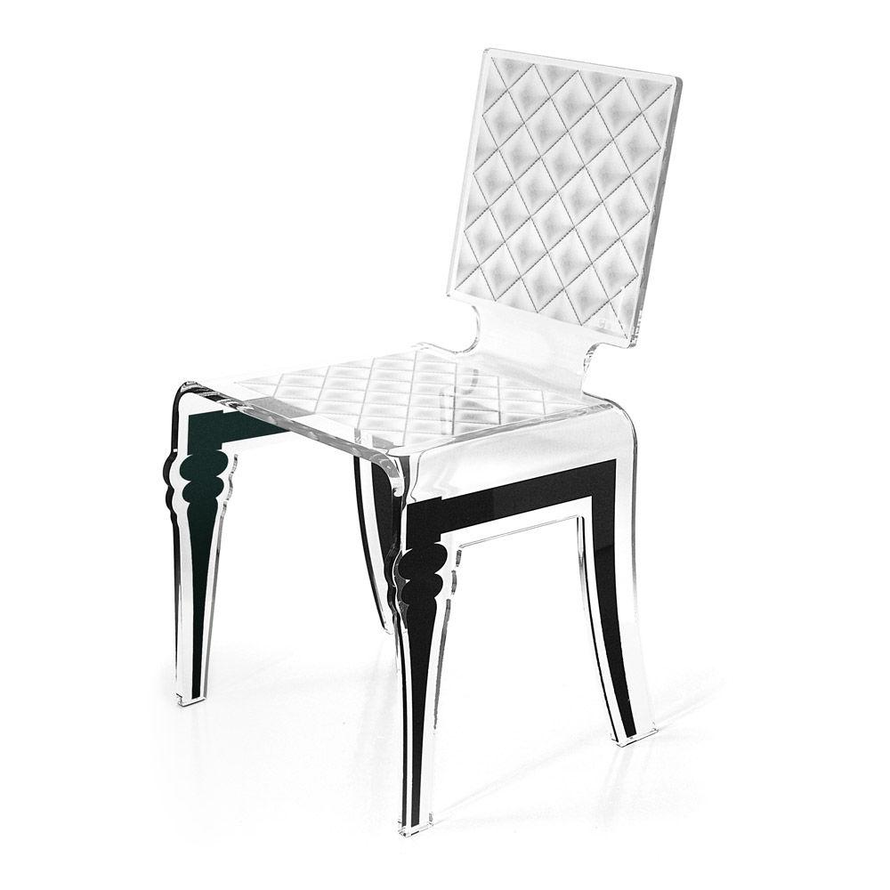 Sedie Plexiglass Design.Sedia Moderna In Plexiglas