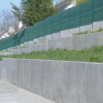 Recinzioni Per Giardino In Cemento.Muro Di Contenimento In Cemento Armato Msl Sitinao