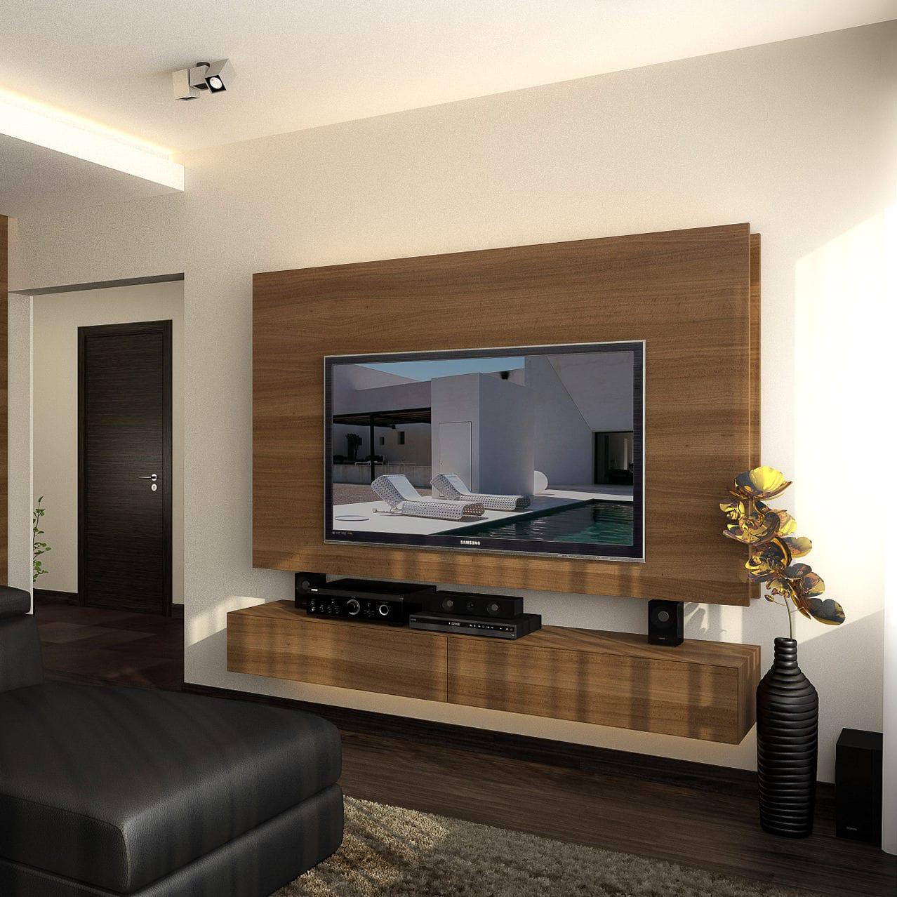 Parete Attrezzata Design Moderno.Parete Attrezzata Tv Moderno In Legno In4 Design Ideas Ltd