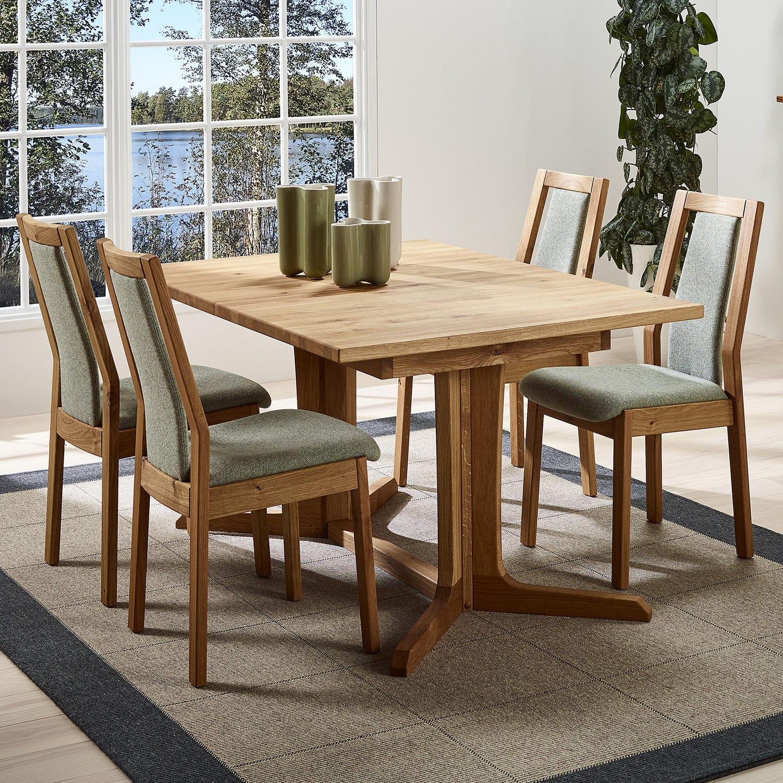 Tavolo da pranzo moderno - 4224С/1 - dyrlund - in legno ...