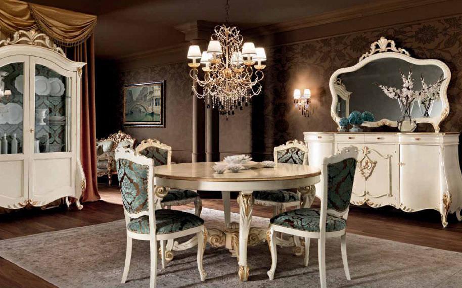 Tavolo da pranzo in stile - VILLA VENEZIA: 11117 ...