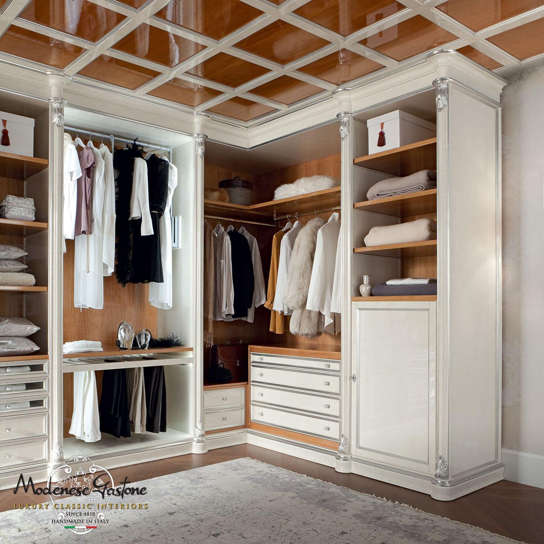 Cabina armadio ad angolo / classica / in legno - BELLA VITA ...
