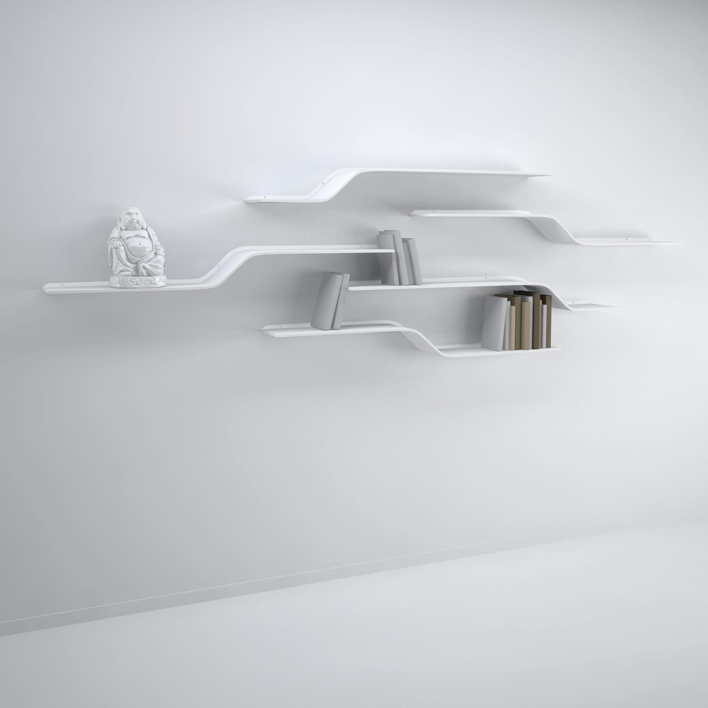 Mensole In Metallo Design.Mensola Design Originale In Metallo Stairs Vidame Creation