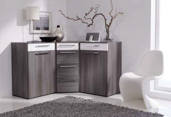 Credenza ad angolo / moderna / in legno - ALEGRO BASIC - Nolte