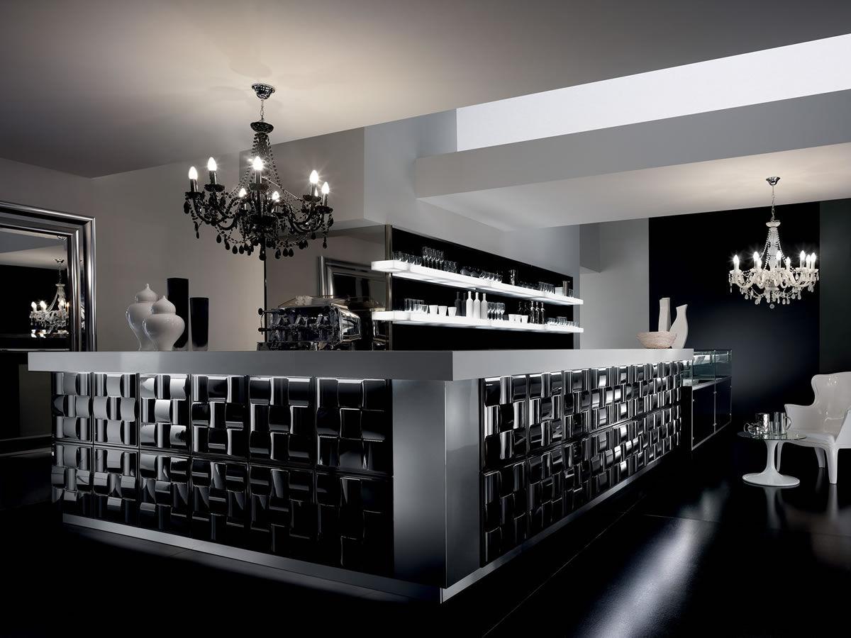 Arredi Bar Moderni bancone da bar - gallery - frigomeccanica - in vetro / in