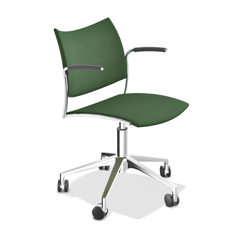 Sedia da ufficio moderna - CELLO - Casala - con rotelle ...