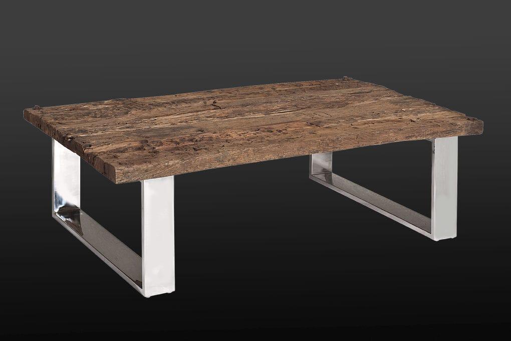 Tavolino Basso In Legno.Tavolino Basso Moderno In Legno In Acciaio Rettangolare
