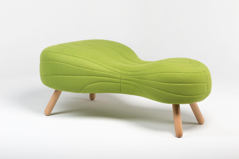Divanetto Imbottito Design.Divanetto Imbottito Design Originale In Tessuto Per