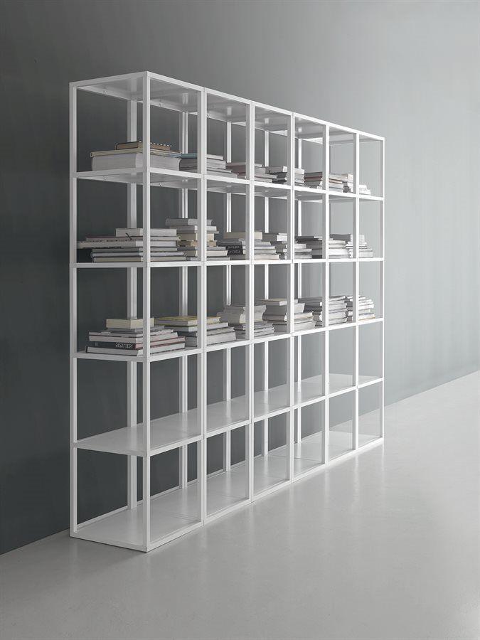 Libreria Metallo Modulare.Scaffale Modulare Moderno In Metallo Dv527 Taba