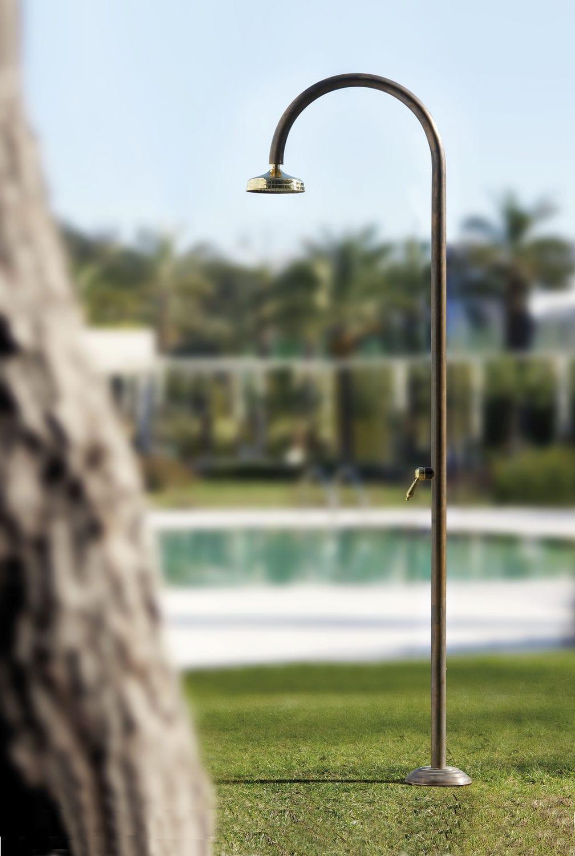 Doccia Da Esterno In Rame Origo Rame Shower C50r M Fontealta