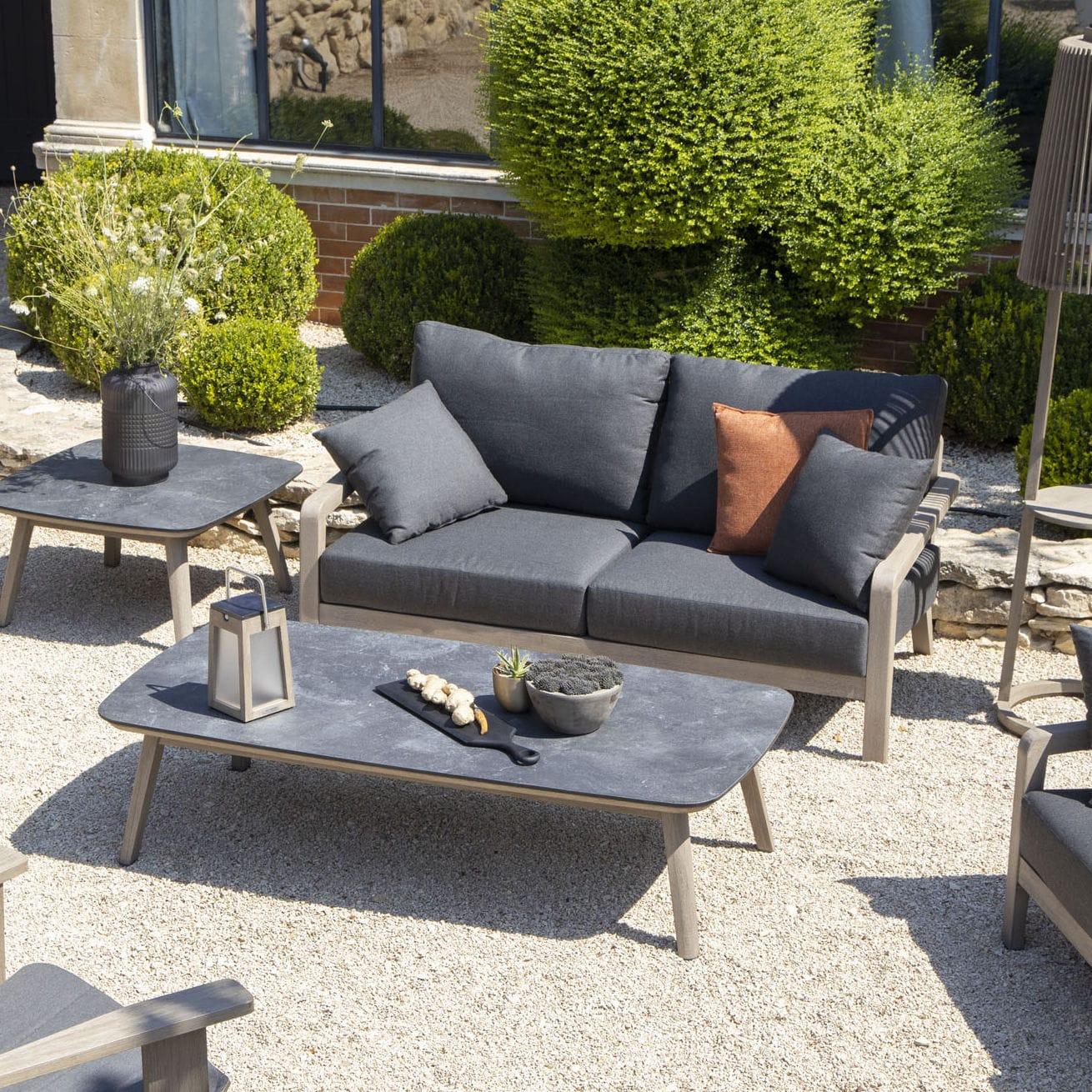 Cuscini Idrorepellenti Per Esterno divano design scandinavo / da esterno / in sunbrella® / in