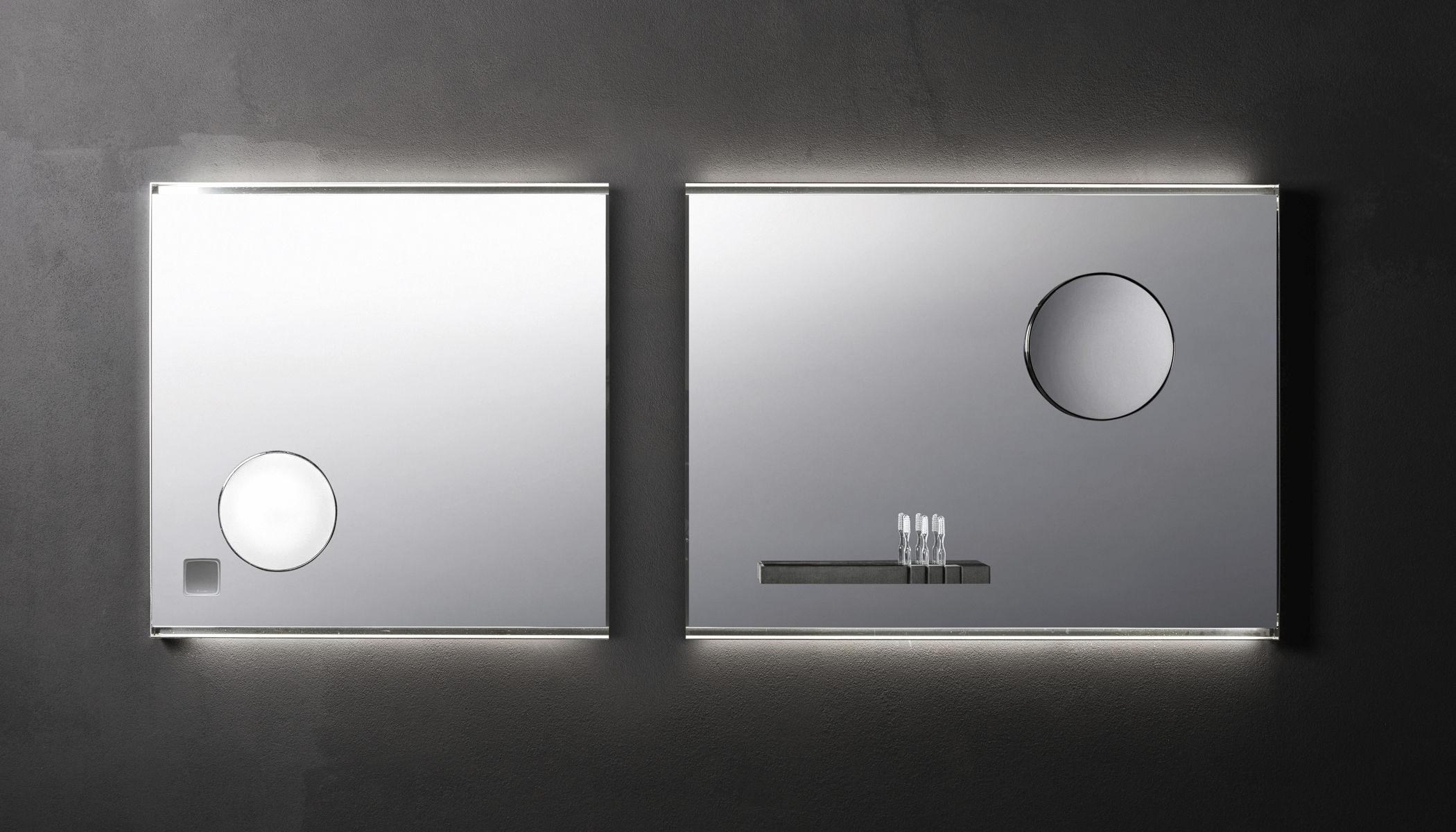 Specchio Con Led Incorporato.Specchio Da Bagno A Muro Luminoso A Led Ingranditore