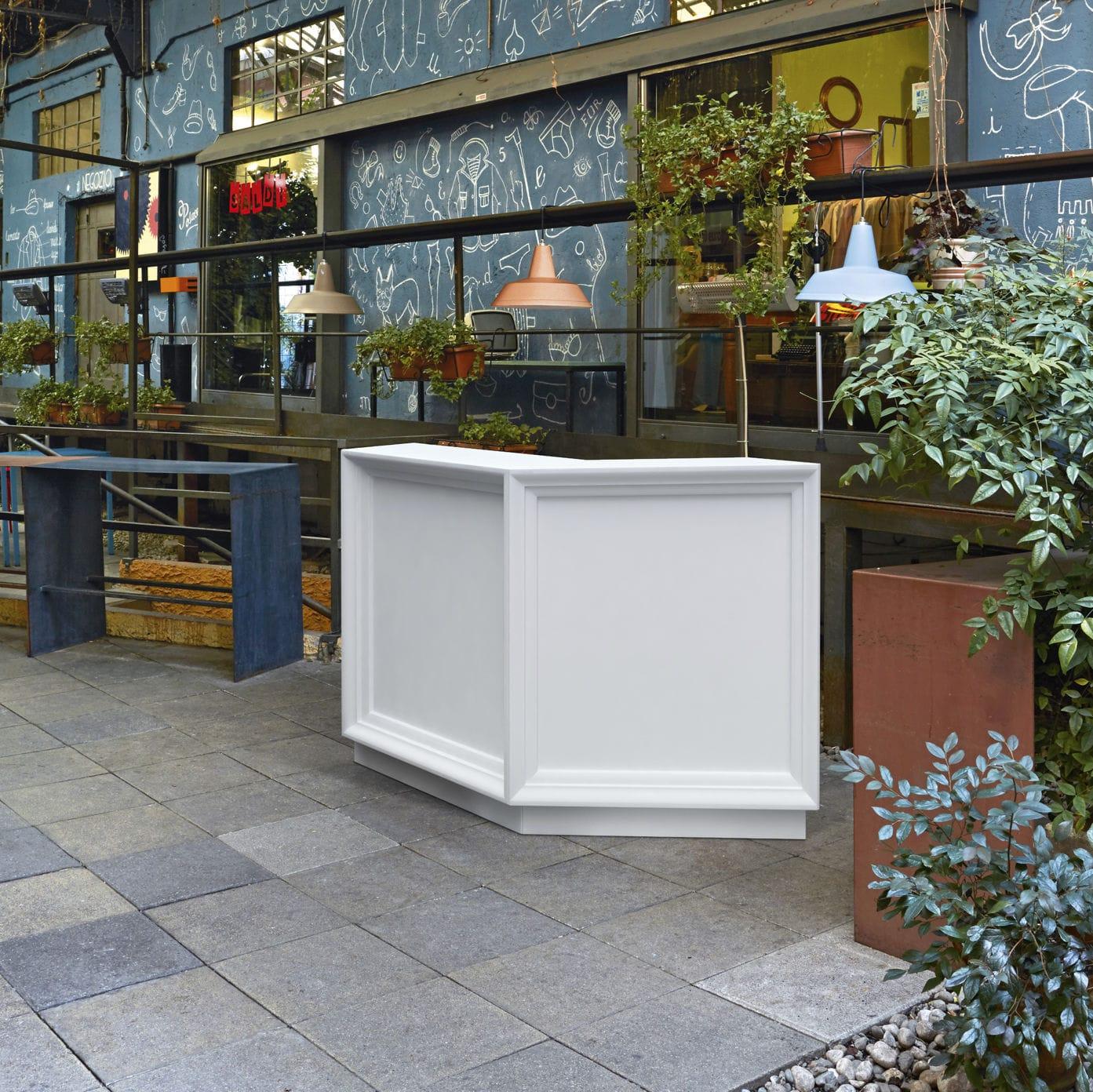 Bancone Bar Da Giardino bancone da bar - dublin - myyour - in plastica / a l / luminoso