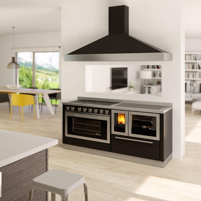 Blocco cucina a legna - MONOBLOCCO 1800 - DeManincor