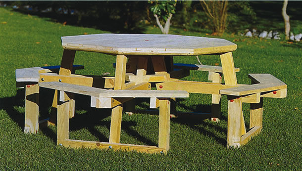 Tavolo E Panche In Legno Da Giardino.Set Tavolo E Panca Moderno Da Giardino Per Uso Residenziale