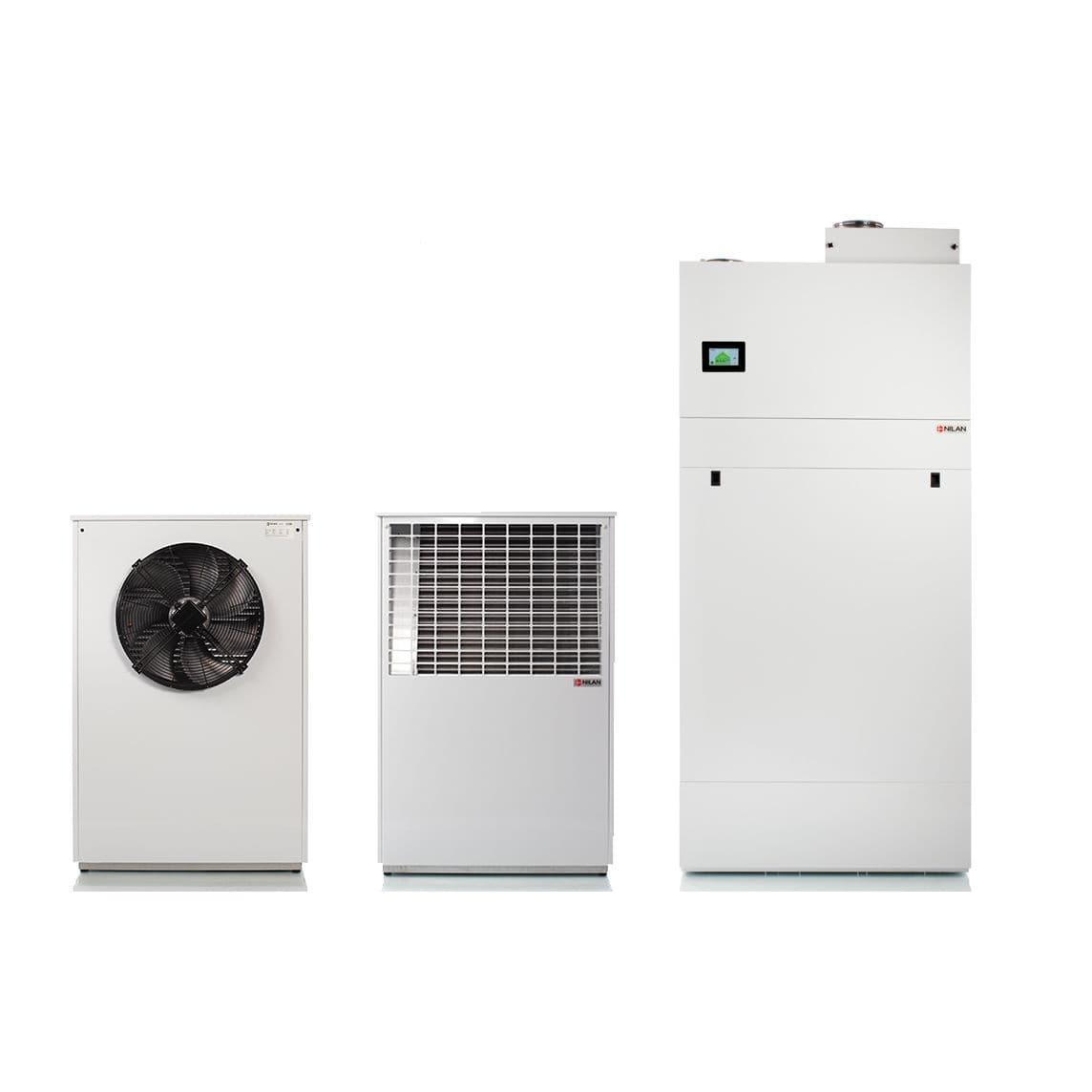 Pompa Di Calore Per Bagno pompa di calore aria-acqua - p air 9 - nilan a/s