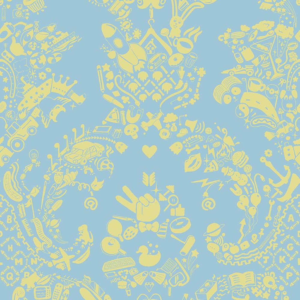 Carta Da Parati Tessuto carta da parati design originale / in tessuto non tessuto / a motivi /  aspetto tessuto
