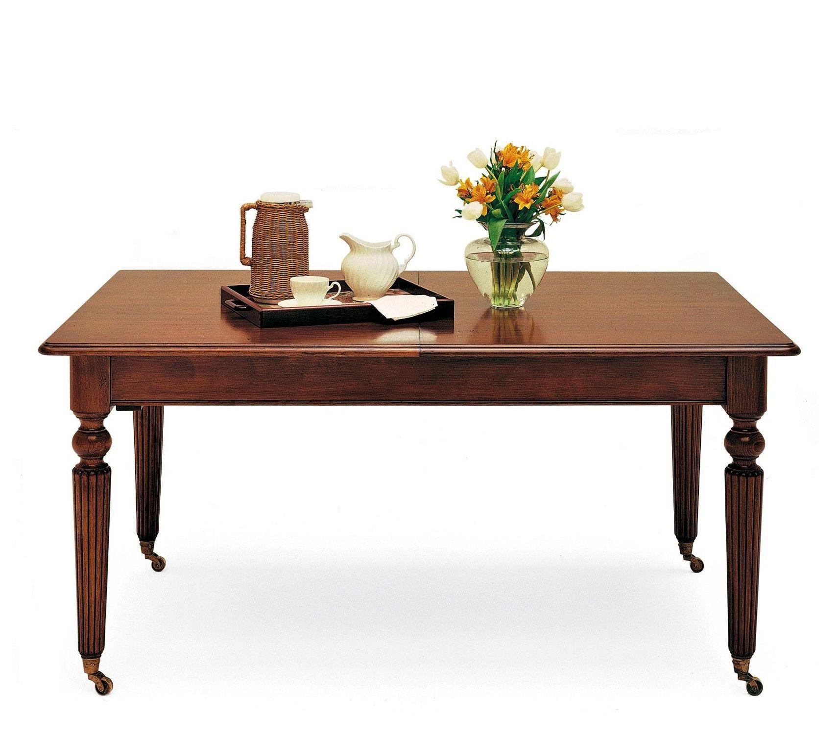 Tavolo da pranzo in stile vittoriano - T-372 - ArtesMoble ...