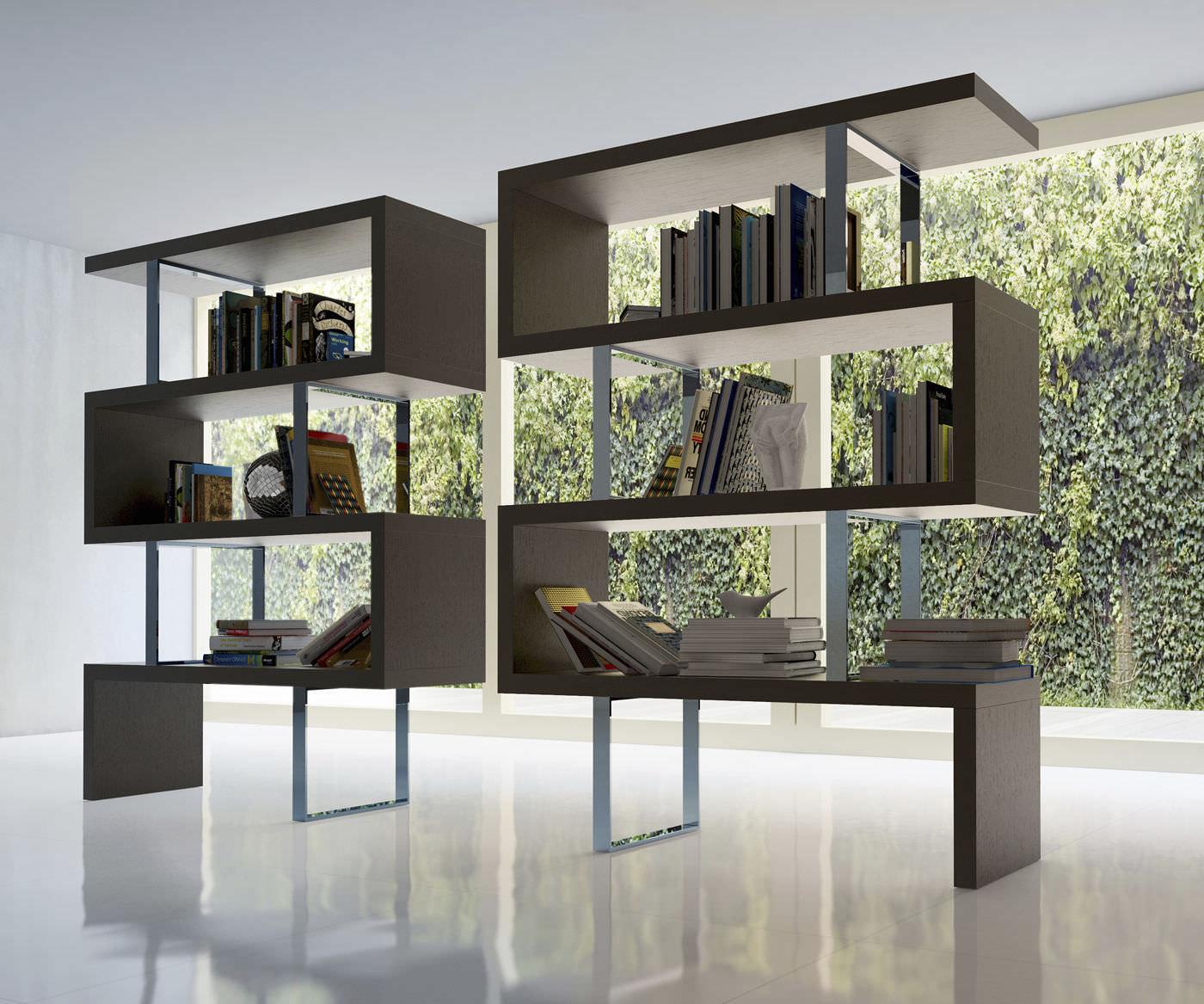 Libreria Moderna In Legno.Libreria Moderna In Legno Pearl Modloft