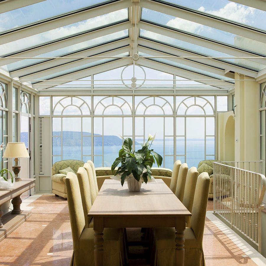 Giardino D Inverno In Vetro veranda in vetro - imperial & toscana - keller - in