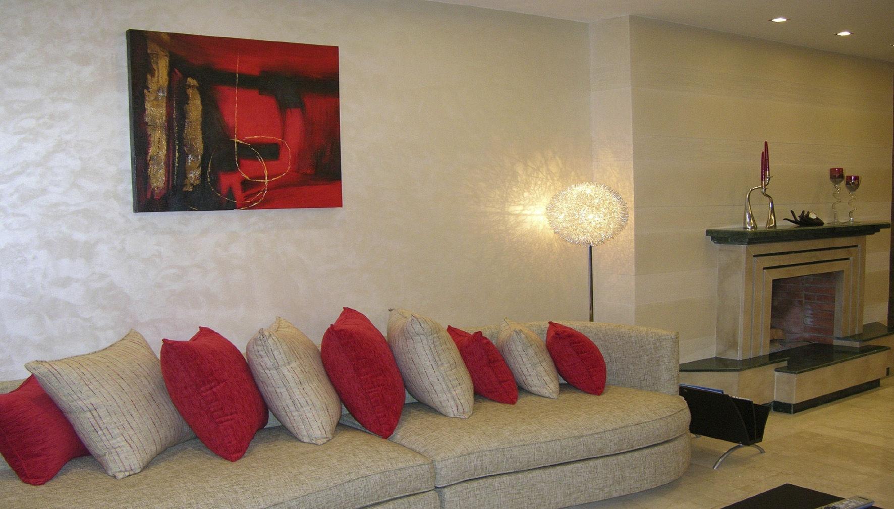 Pittura decorativa / per muro / interno / acrilica ...