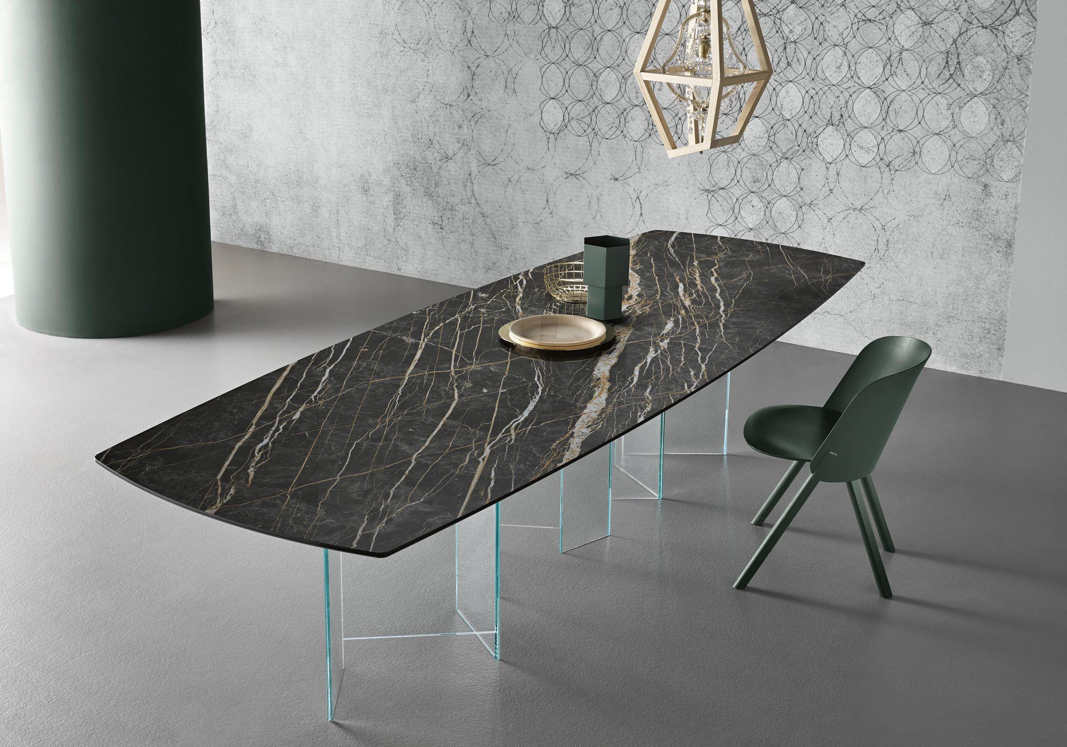 Tavolo moderno - METROPOLIS - TONELLI Design - in bronzo ...