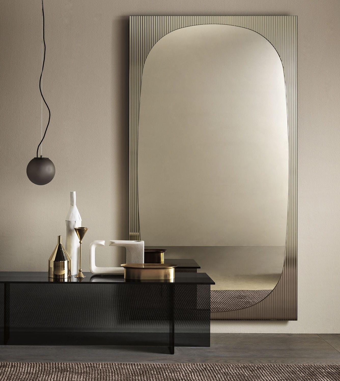 Specchio Design Per Camera Da Letto.Specchio A Muro Bands Tonelli Design Per Camera Da Letto