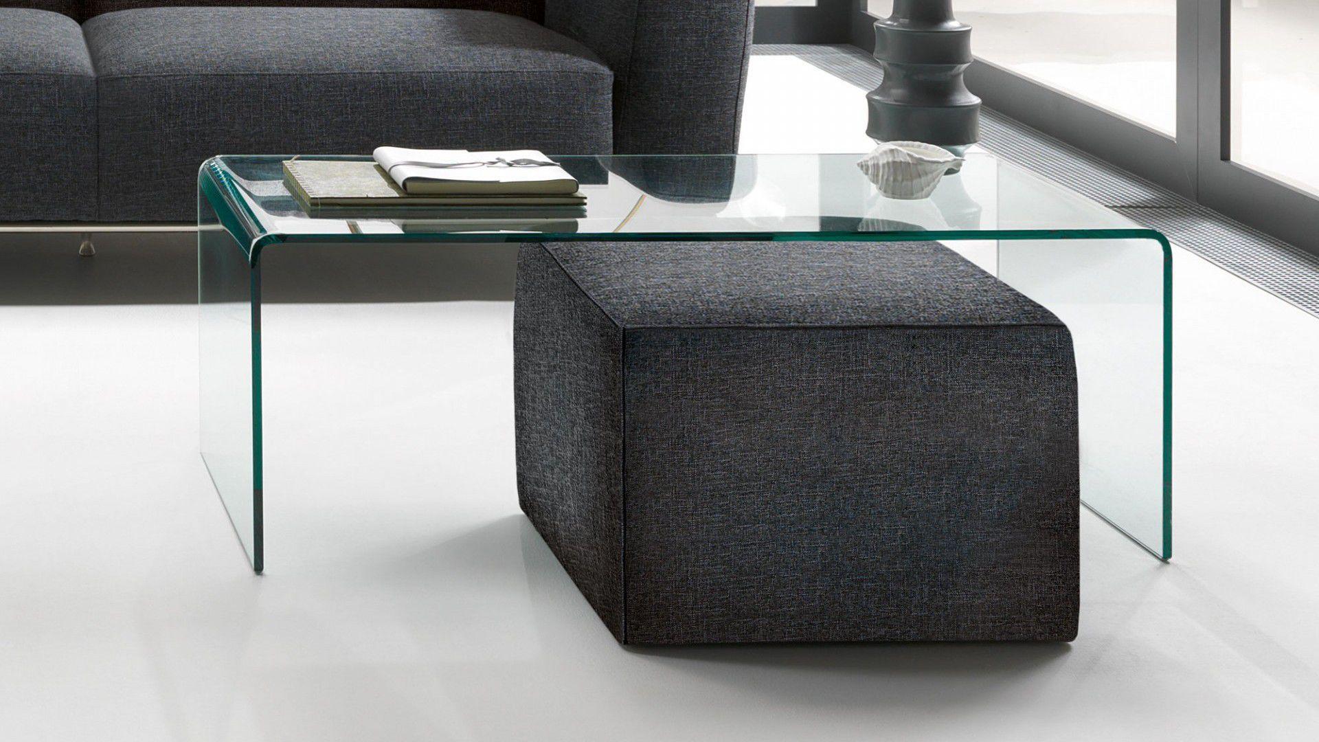 Tavolino Cristallo Natuzzi.Tavolino Basso Moderno In Vetro Rettangolare Da